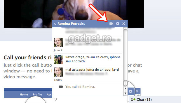 how to video call on facebook
