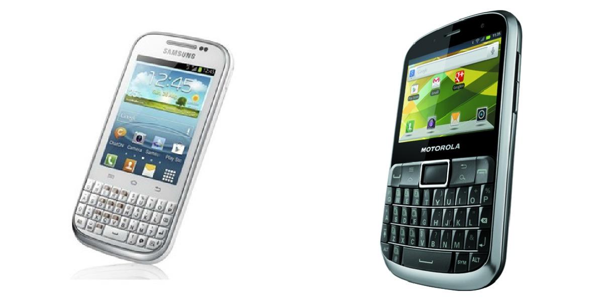 Samsung Galaxy Chat Vs Motorola Defy Pro Telefoane