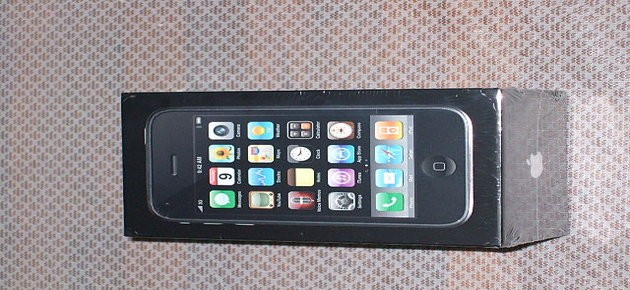 the first iPhone ever manufactured