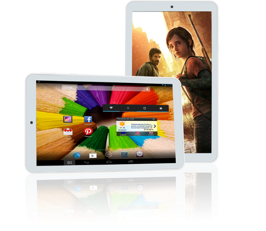 evolio quattro hd   tablet de 7 inch cu procesor quad