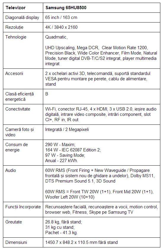 specificatii-Samsung-65HU8500