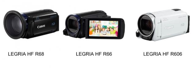 Canon Legria R66 R68 R606