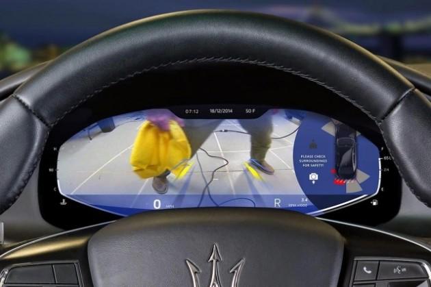Maserati Quattroporte bord