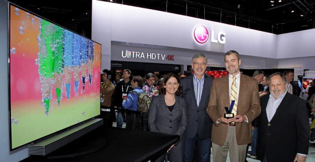 Samsung și LG CES 2015