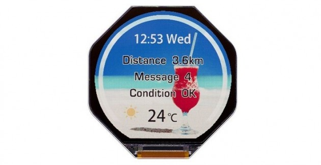 Display pentru smartwatch