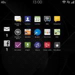 Screenshots BlackBerry Classic