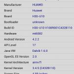 Screenshot Huawei Honor 3C
