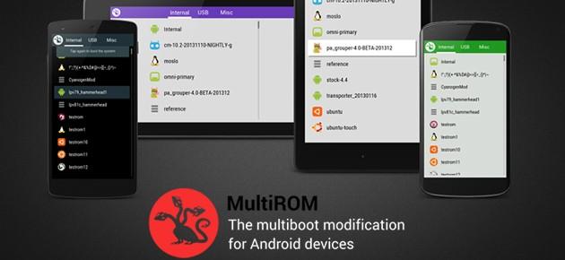 Instaleaza cate ROM-uri vrei cu MultiROM