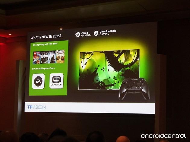 EA Gameloft pe TV Philips