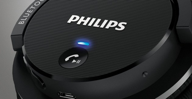 Casti wireless Philips SHB5500 Black
