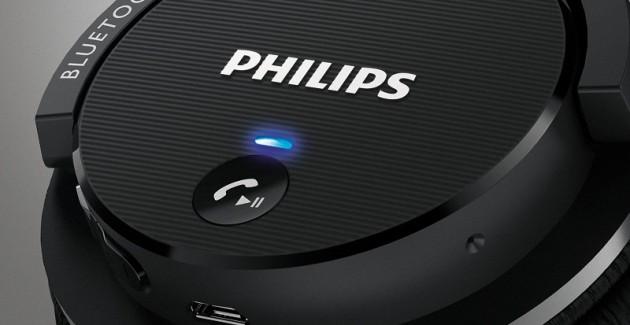 Casti wireless Philips SHB5500 Black