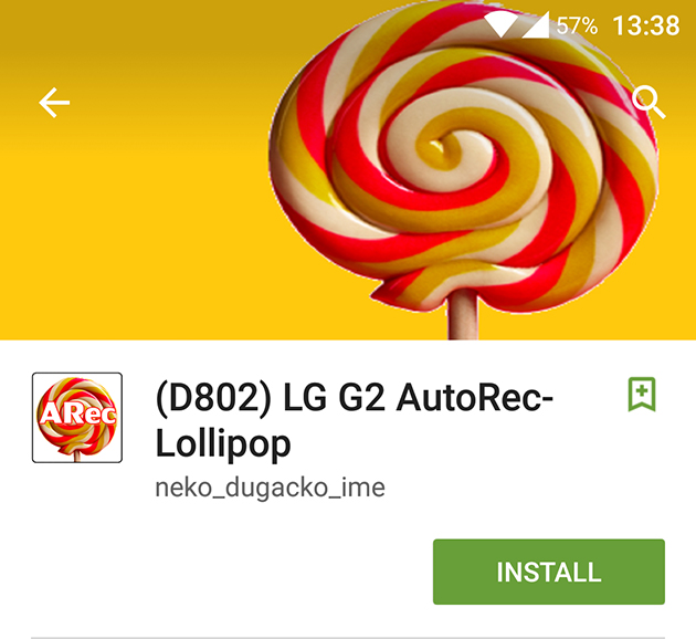 Instaleaza TWRP recovery pe LG G2 D802 cu Android Lollipop
