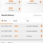 Teste benchmark Allview E3 Sign