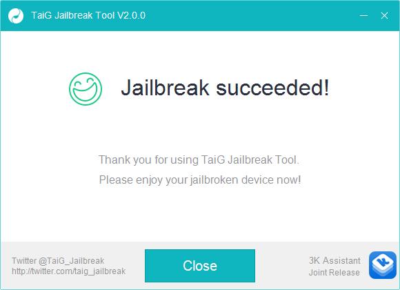 Jailbreak iOS 8.1.3, 8.2, 8.3 cu TaiG v2