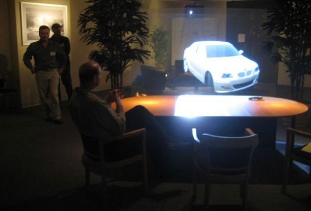 televizor cu holograma