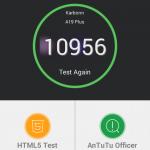 Teste benchmark Karbonn A19 Plus
