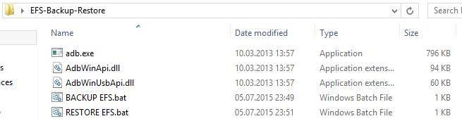 Backup si Restore al partitiei EFS pentru OnePlus One