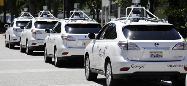 mașinile autonome google