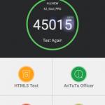 Teste benchmark Allview X2 Soul Pro