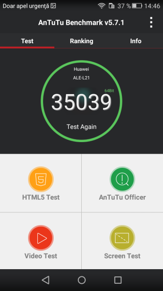 Teste benchmark Huawei P8 Lite (1)