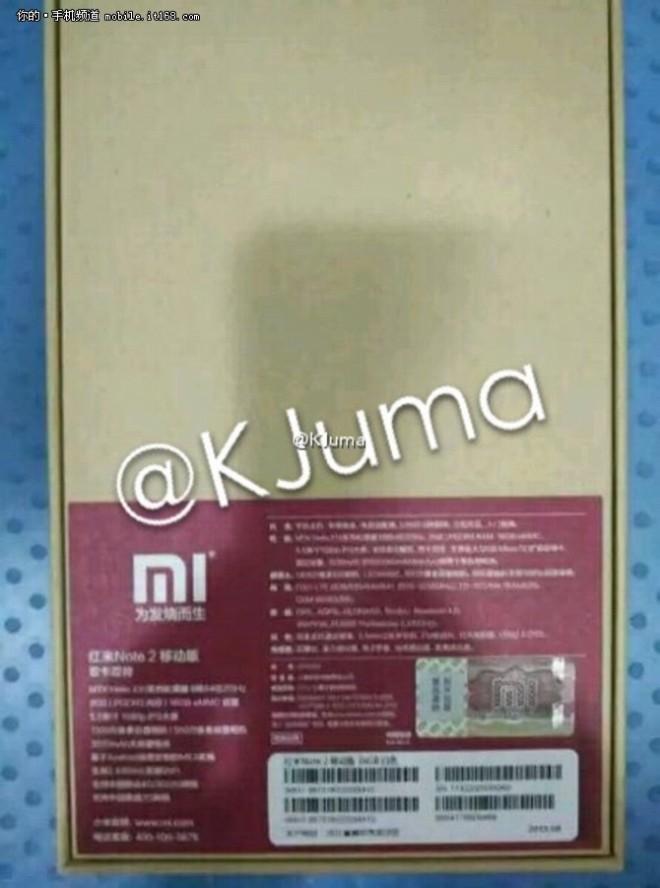 Xioami Redmi Note 2 3
