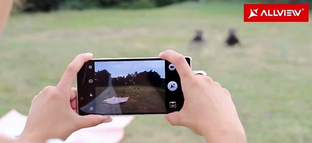 Camera foto de pe Allview X2 Xtreme