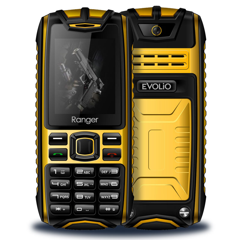 telefon-evolio-ranger-yellow