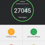 Teste benchmark Vodafone Smart Ultra 6