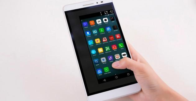 Lenovo Phab la Digi Mobil: telefon / tabletă cu display de