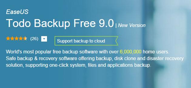 Backup de date simplu folosind EaseUS Todo Backup Free