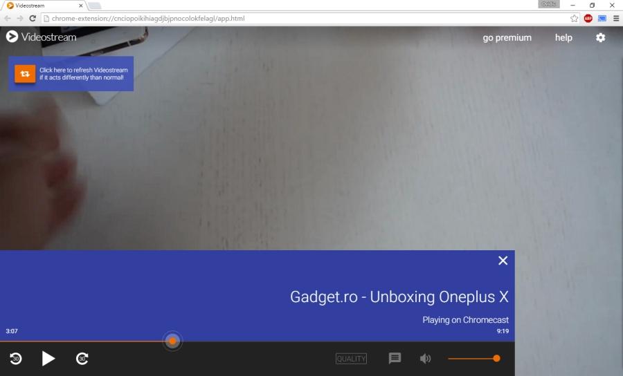 Cum faci streaming la continut video local prin Chromecast