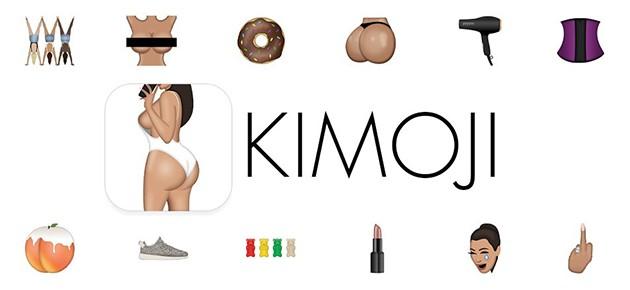 KIMOJI, tastatura si colectie emoji iOS de la Kim Kardashian