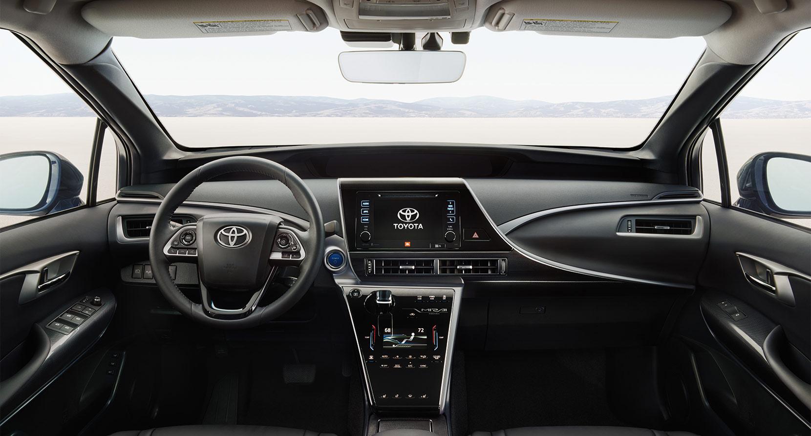 Toyota Mirai Primește Conexiune De Date Prin Satelit