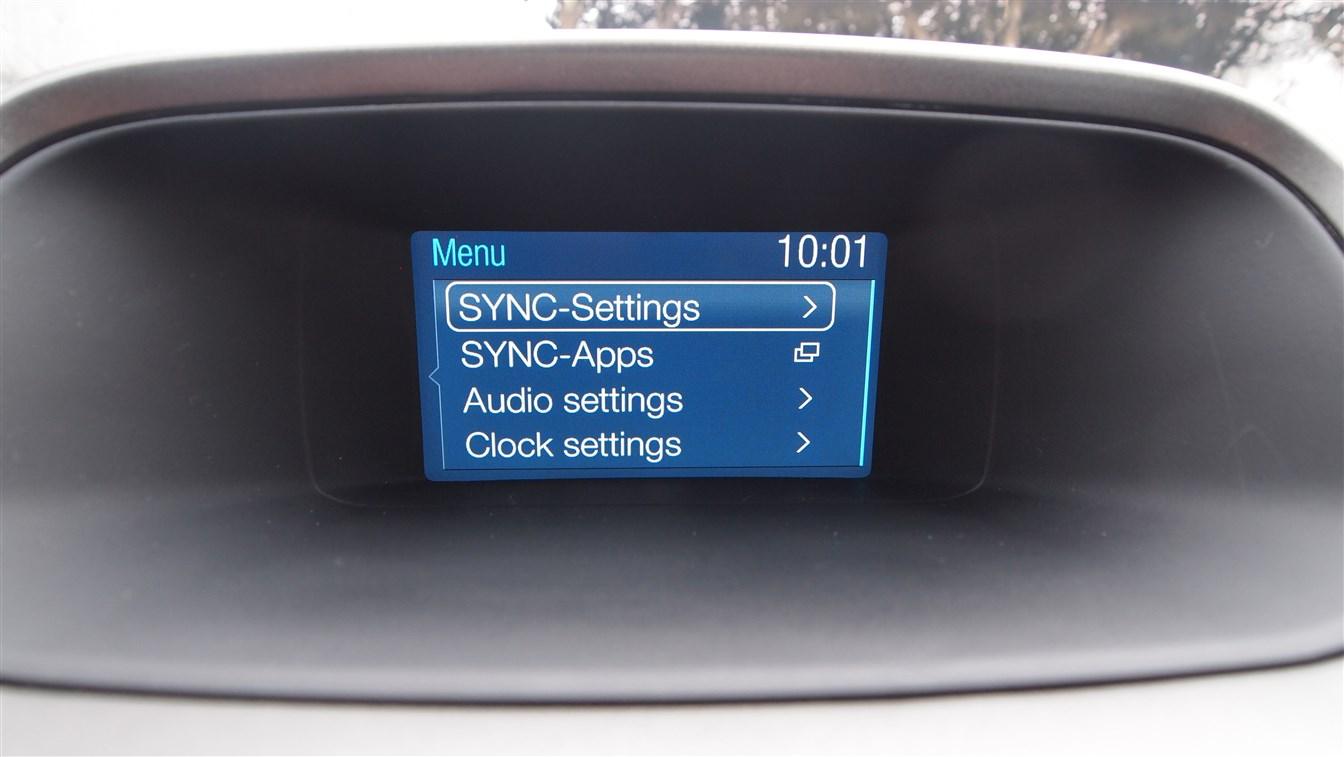 Ford Ranger Limited Infotainment Sistem Screenshot