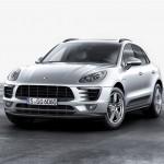 Porsche Macan front