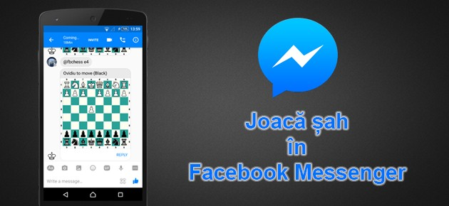 Joaca sah in Facebook Messenger