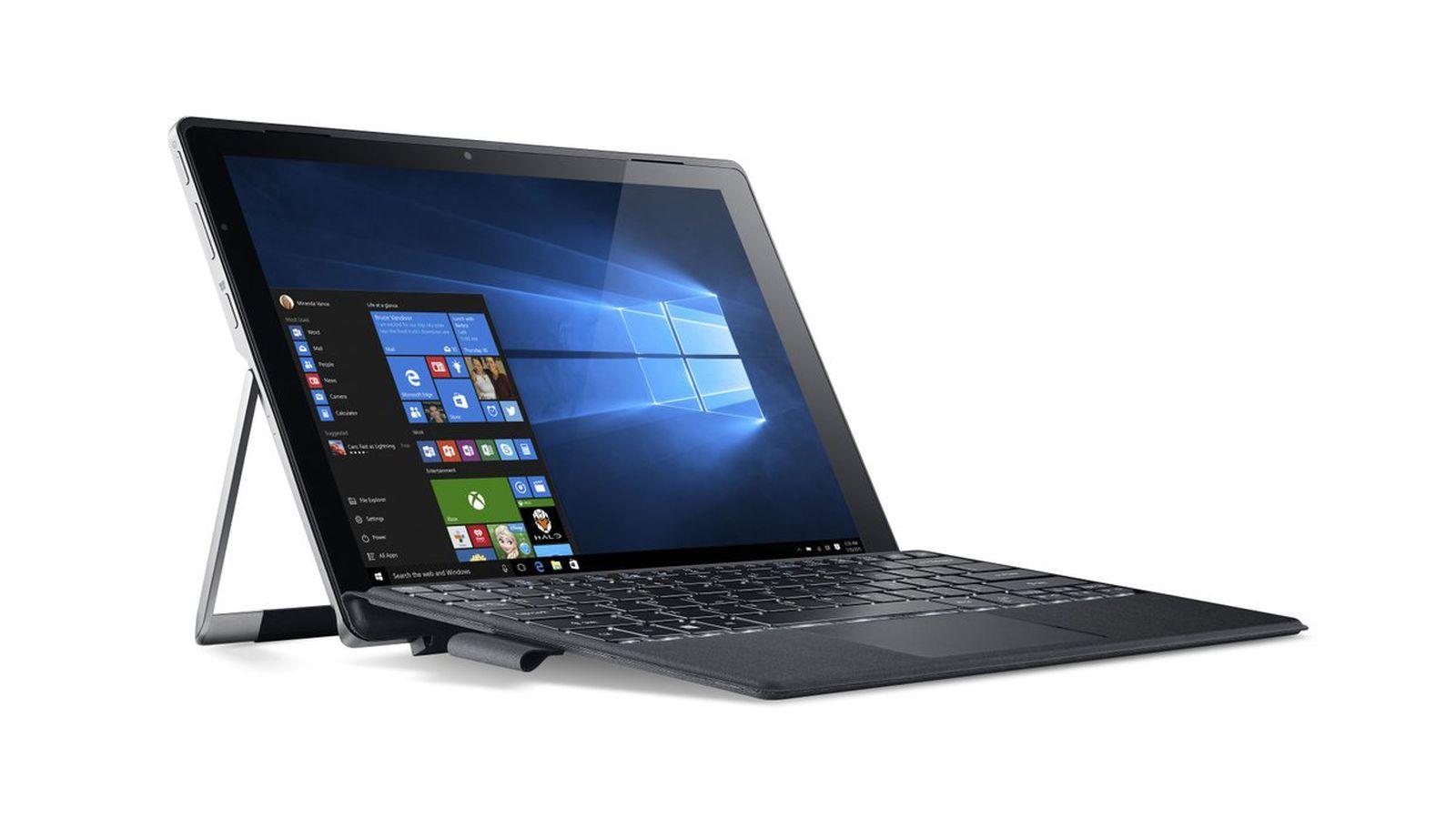 Acer Switch Alpha 12 Primul Laptop Convertibil Cu Răcire