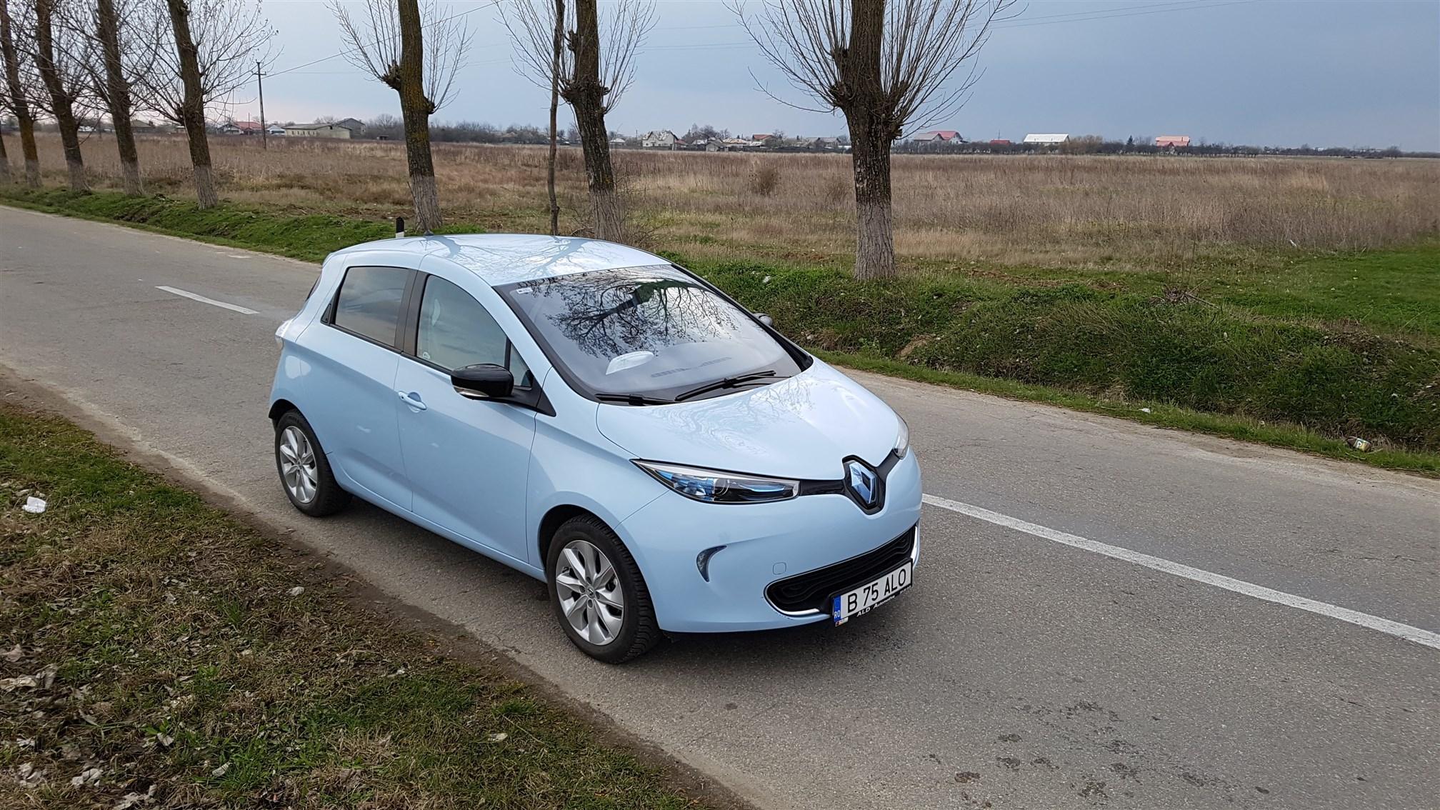 Renault ZOE Exterior (14)