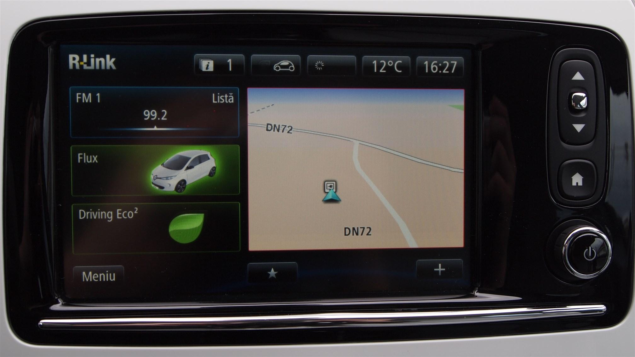 Tableta R-Link Renault ZOE