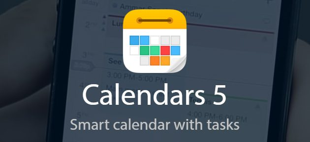 Aplicatia saptamanii in Apple App Store: Calendars 5