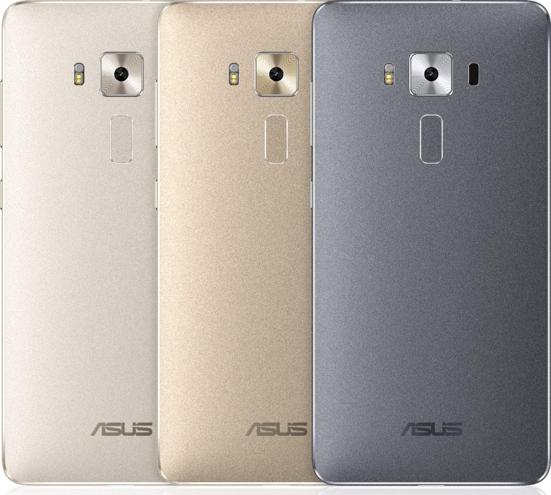 ASUS Zenfone 3 Deluxe culori