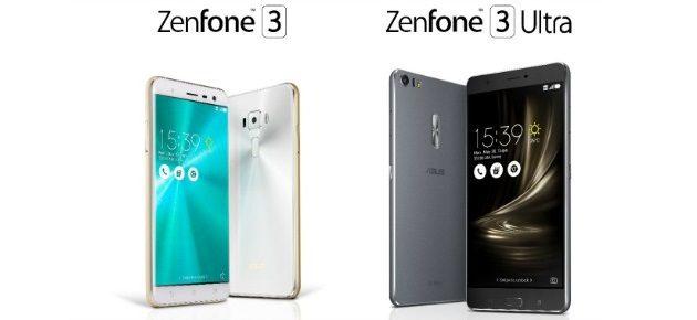 ASUS Zenfone3 si Zenfone 3 Ultra