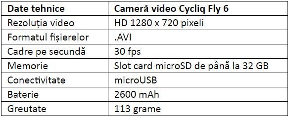 Specificatii Cycliq Fly 6