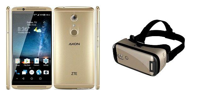 ZTE Axon 7 si ZTE VR