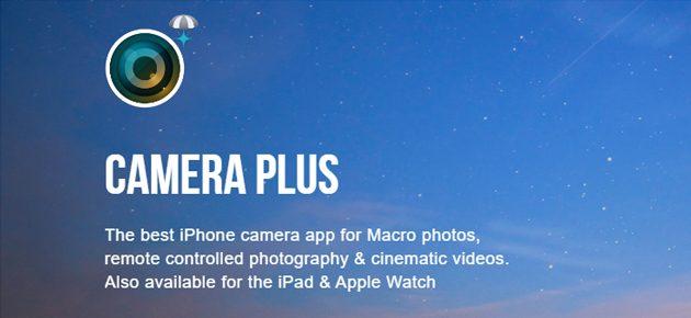 Aplicatia saptamanii in Apple App Store: Camera Plus
