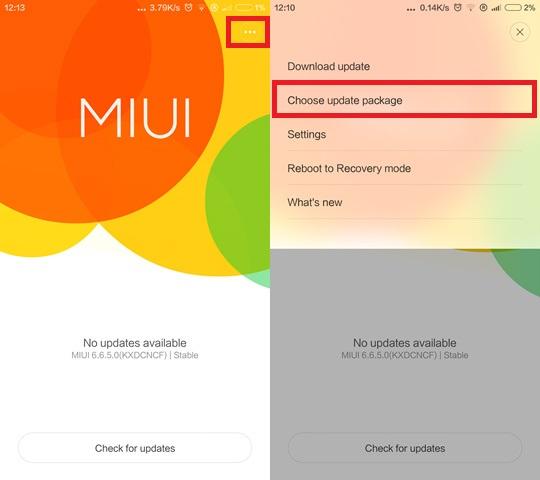 Instalează MIUI Developer pe un device Xiaomi