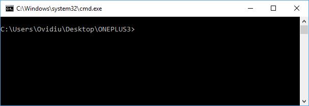 OnePlus 3: Instaleaza TWRP custom recovery