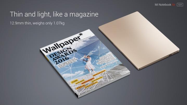 Xiaomi Mi Notebook Air de 12.5 inci