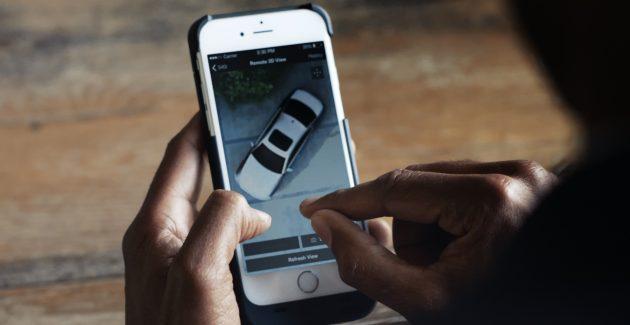 BMW Remote View 3D