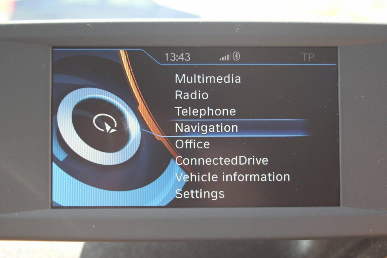 Screenshots iDrive BMW i3 (2)